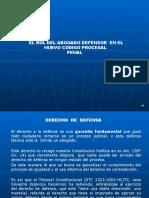 Rol Del Abogado Defensor en El NCPP