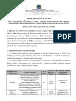 9116 Edital 111 Especifico Campus Governador Valadares