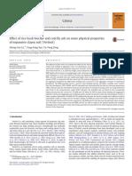 Lu Et Al (2014) Effect Ofrice Husk Biochar on Physical Properties of Expansive Clay Soil. Geoderma