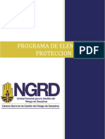 Pro-1601-Gth-02 Programa de Elementos de Proteccion Personal