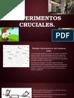 EXPERIMENTOS CRUCIALES DE FISICA