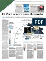 El Perú Se Abre Paso Al Espacio