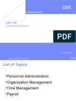 SAP HR Functional Overview_ppt