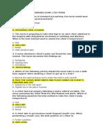 Fundamentals of Nursing Exam 1.docx