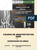 Supervision de Obras - Curso Cap