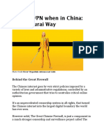 The Great Chinese Firewall