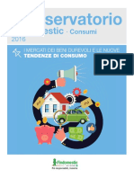 Osservatorio Findomestic 2016