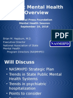 State efforts to change mental health delivery