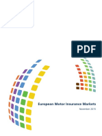 European Motor Insurance Markets