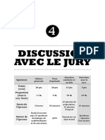 III.4 - Discussion avec le jury