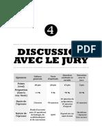 III.4 - Discussion avec le jury
