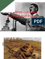 10 Datos Curiosos Sobre Adolf Hitler