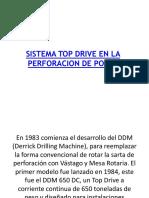 Sistema Top Drive en La Perforacion de Pozos