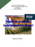 Unidad de Producción Agropecuaria Patria Bolivariana