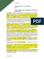 Comportamiento y actores políticos I UC3M