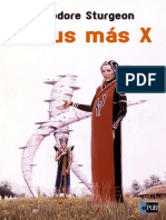 Venus Mas X - Theodore Sturgeon