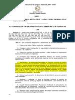 Proyecto de modificación de la Carta Orgánica de la Policía Nacional