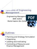Chapter 2 Engineering Management