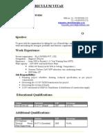 Kripendra Pwer CV (SMART)