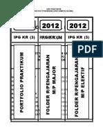PIPR-33 Label Portfolio & Folder Rancangan Pengajaran