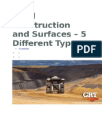 Road Construction and Surfaces
