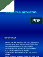 Resusitasi Neontus