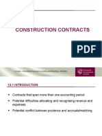 Chapter 12 - Construction Contracts
