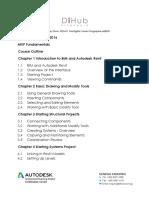 Autodesk® Revit® 2016 - MEP Fundamentals - Course Outline