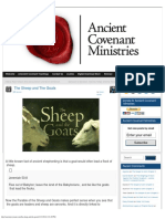 The Sheep and the Goats » Ancient Covenant Ministries