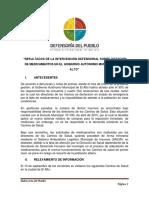 Informe del Defensor del Pueblo sobre Centros de Salud en El Alto