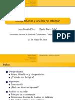Diapositivas Utraproductos y Análisis No Estándar - Pérez, Fula