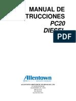 PC20 Diesel - Spanish