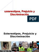 Estereotipos, Prejuicios y Discriminación
