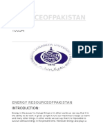 ENERGY RESOURCES OF PAKISTAN.docx