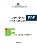 Manual de Almoxarifado