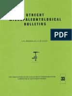 Utrecht Micropaleontological Bulletins-33-CW Drooger and de Klerk