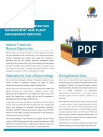 Engineering Information Management and Plant Engineering Services