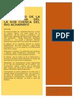 Articulo Pachacayo Ushto Terminado