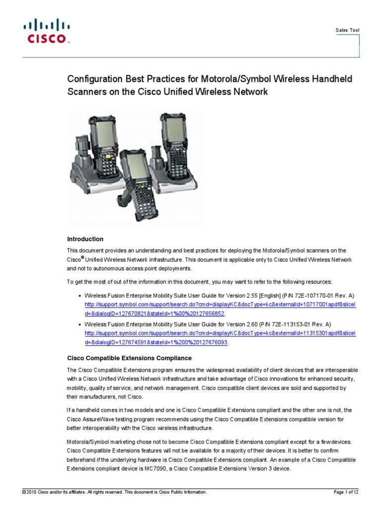 Cisco Motorola Installation Computer Programs Microsoft Windows