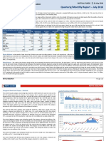 Quarterly and Monthly Mutual Fund Report