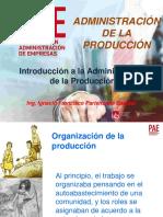 Introduccion de la produccion