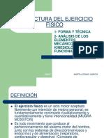Tema 1- Estructura Ejercicicio Físico