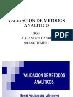 Validacion de Metodos Analitico