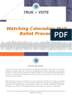 CO Mail Ballot Observer Training