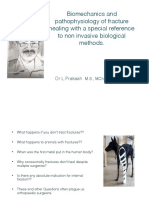 Fracture biomechanics and pathophsiology