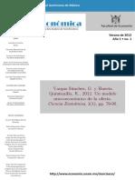 Un Modelo Microeconómico de La Oferta