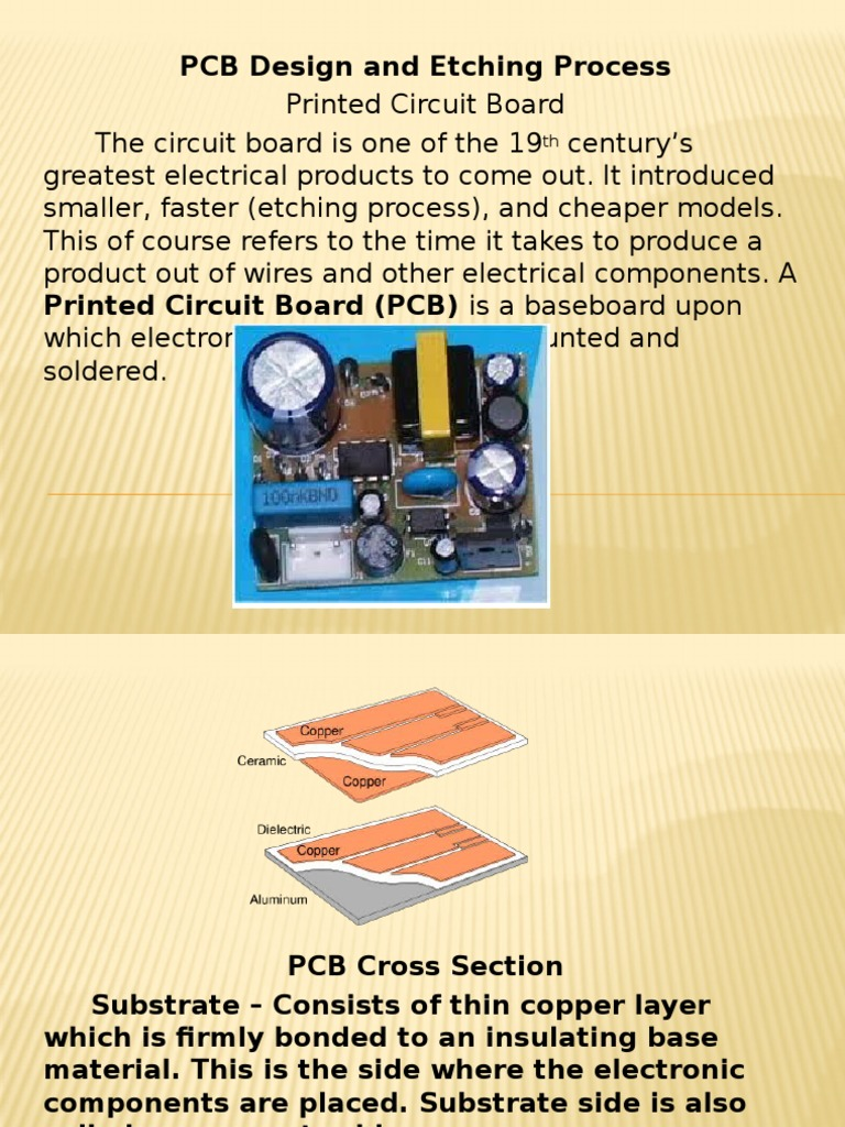 7 etching pptx | Printed Circuit Board | Electricity