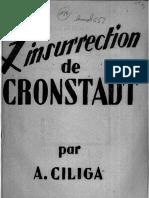 Ante Ciliga, Insurrection de Cronstadt 1946