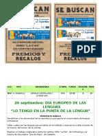 UD-26 Sept Dia de Las Lenguas de Europa en Castejon