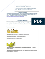 A Lesson Planning Framework2.Do